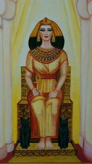 Египетская  Богиня Баст!