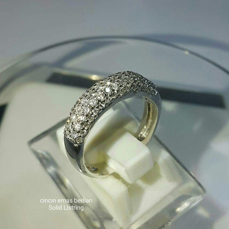 Cantiik... Simple... Mode Abadi... Cincin Emas Berlian Solid Listring💍. 🏪Toko Perhiasan Emas Berlian-Ammad 📲+6282113309088/5C50359F Cp.Antrika👩. https://m.facebook.com/home.php #investasi#diomond#gold#beauty#fashion#elegant#musthave#tokoperhiasanemasberlian