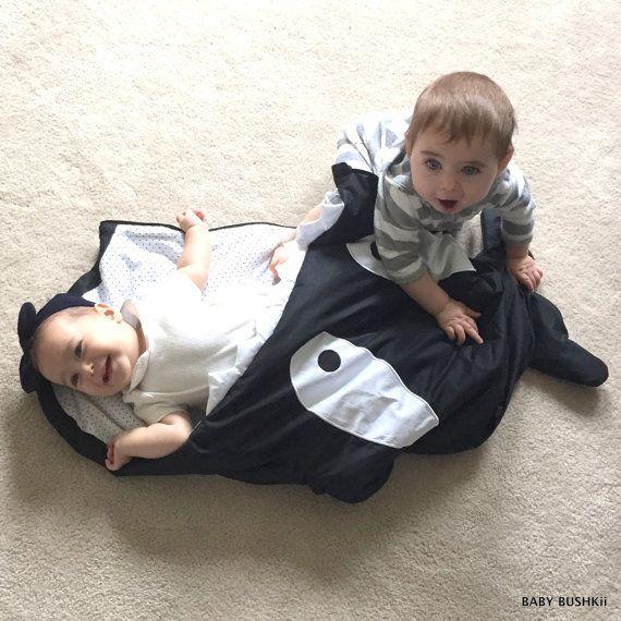 Baby Whale Sleeping Bag by BabyBushkii on Etsy