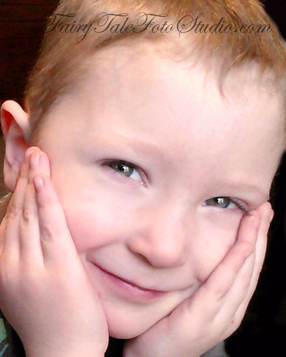 Closeup Portrait Of A: Just Kids Photography: 4 Year Old Boy Closeup Portrait