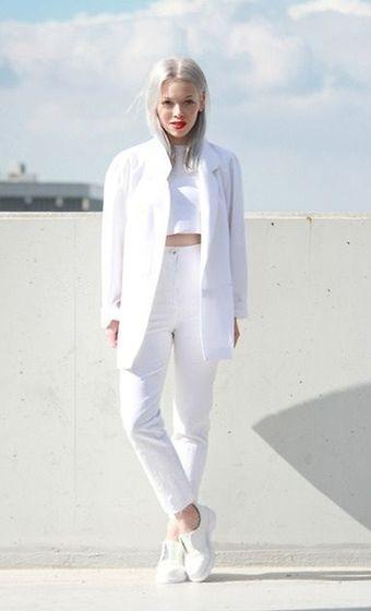 white fashion stories - Google Search