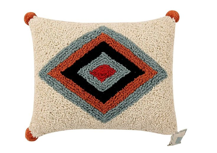 NEW Cushion Rhombus #washablecushions #lorenacanals #cushions #accesories
