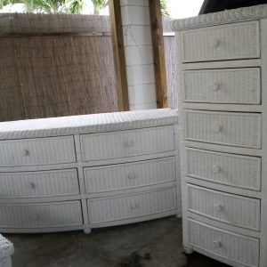 White Wicker Bedroom Set Pier One