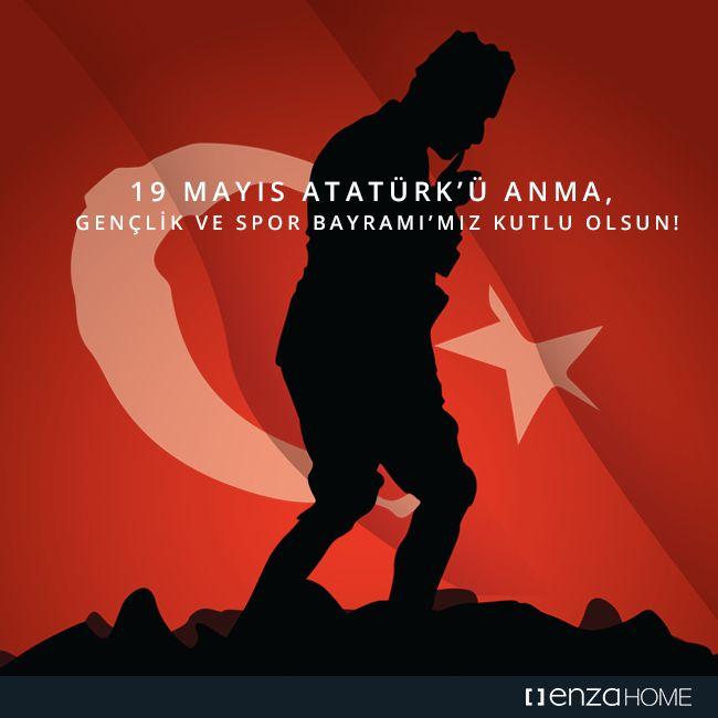Özgürlüğe atılan ilk adımdır 19 Mayıs.  19 Mayıs Atatürk'ü Anma, Gençlik ve Spor Bayramını 97. Yılında minnet ve coşkuyla anıyoruz.