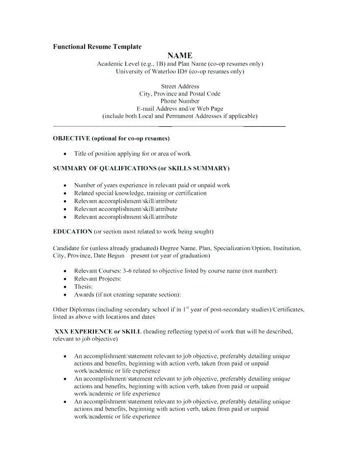 Example Of Resume Title Resume Title Ideas Amazing Ideas Example Of Work Resume Inspirin Functional Resume Template Functional Resume Functional Resume Samples