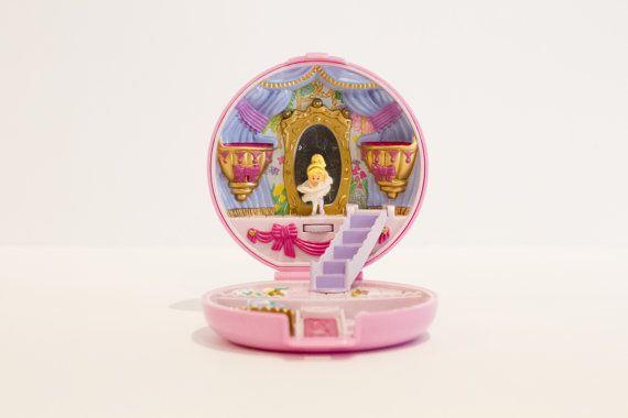 1993 Vintage Polly Pocket - Complete - Ballerina Polly (Bluebird Toys)