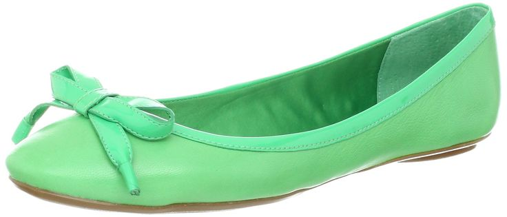 Enzo Angiolini Women's Bertolino Ballet Flat,Green,7.5 M US.
