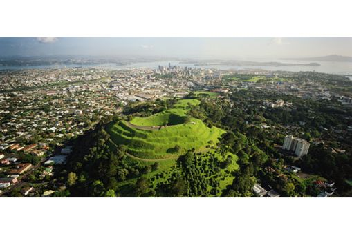 Mt Eden is a shield (scoria cone) volcano in central Auckland. It is part of the Auckland volcanic field.