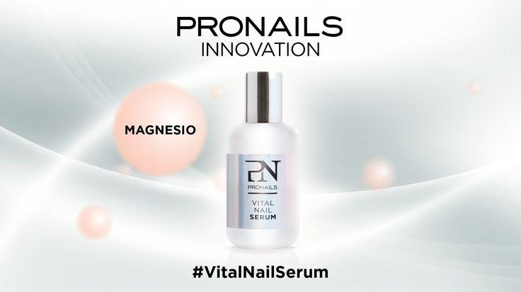 Scopriamo insieme #VitalNailSerum e tutti i suoi 6 componenti! #5 il MAGNESIO è un minerale essenziale che influenza la robustezza delle unghie! #pronailsitalia #pronails #loveyourhands #sopolish  VitalNailSerum, il trattamento naturale che ripara, protegge e rigenera!