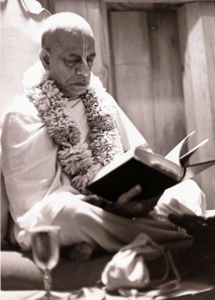 .A.C. Bhaktivedanta Swami Srila Prabhupada.
