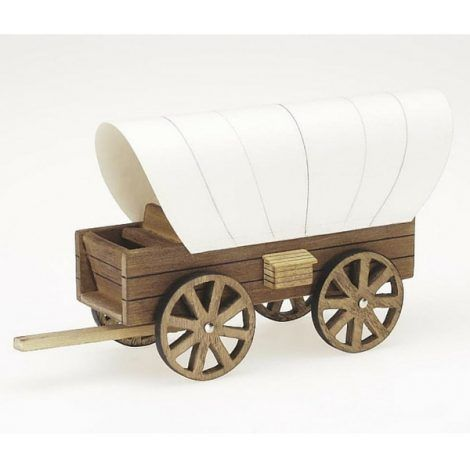 Wooden Wagon with Cover www.teeliesfairygarden.com Merchant gnomes used a wooden wagon with cover to transfer their goods to other cities in fairyland. They deliver goods to your fairies too. #fairywagon