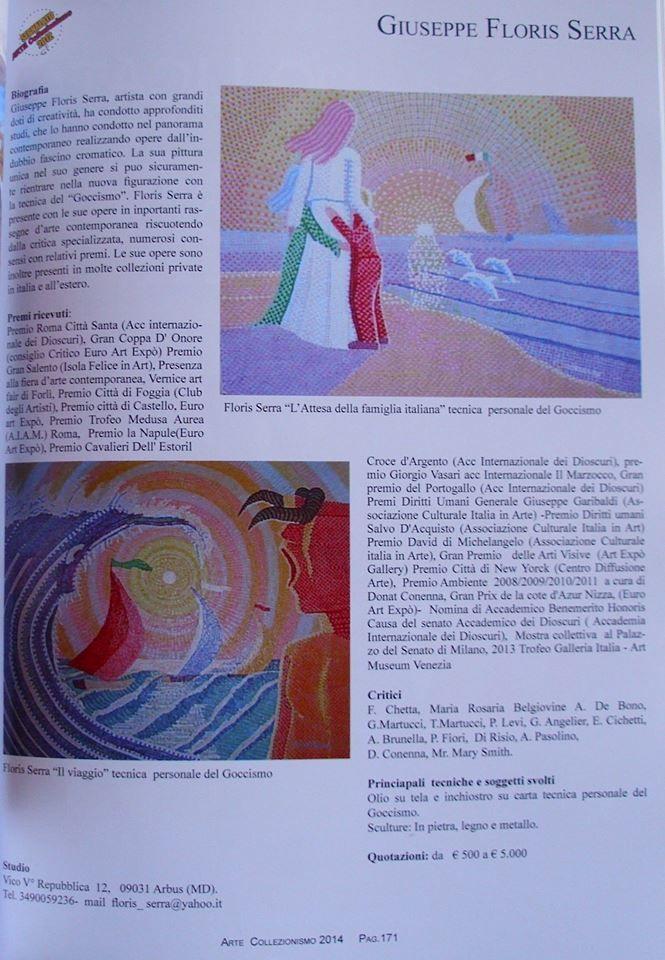 Critica sul Goccismo la pittura di Giuseppe Floris Serra.