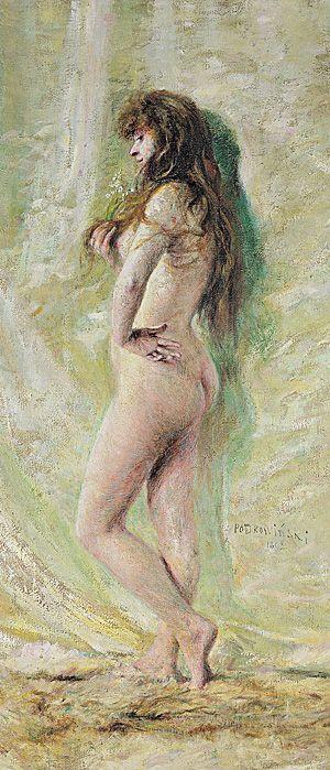 Lily of the Valley, 1892, Władysław Podkowiński (Polish, 1866 - 1895)