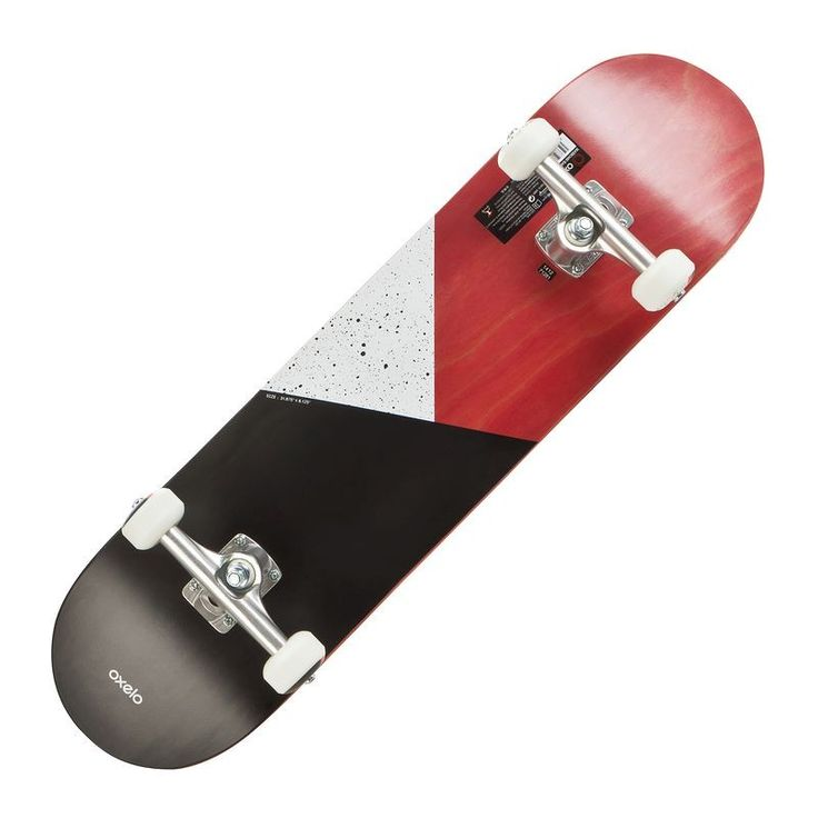 Buy Skateboard Online in India|Team Galaxy Skateboard Red|Oxelo