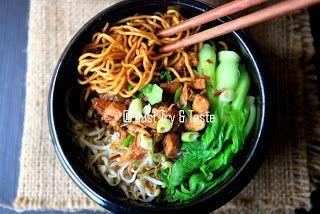 Resep cara membuat mie ayam yamin http://resepjuna.blogspot.com/2015/10/video-resep-membuat-mie-ayam-yamin-yang.html asli masakan indonesia
