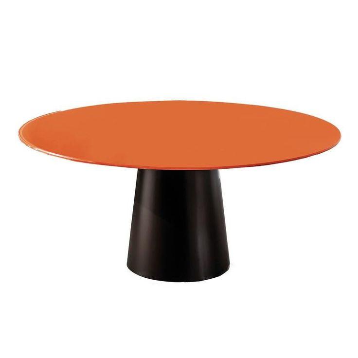 Minimalist Orange Dining Table