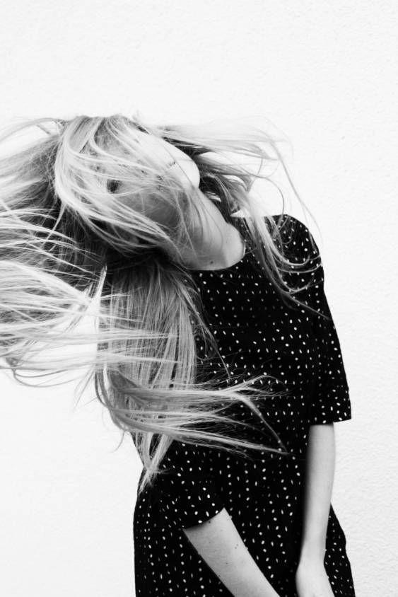 black and white photo: Hair Down, Inspiration, Style, Long Hair, Hair Whipped, Longhair, Hairflip, Hair Flip Pictures, Black