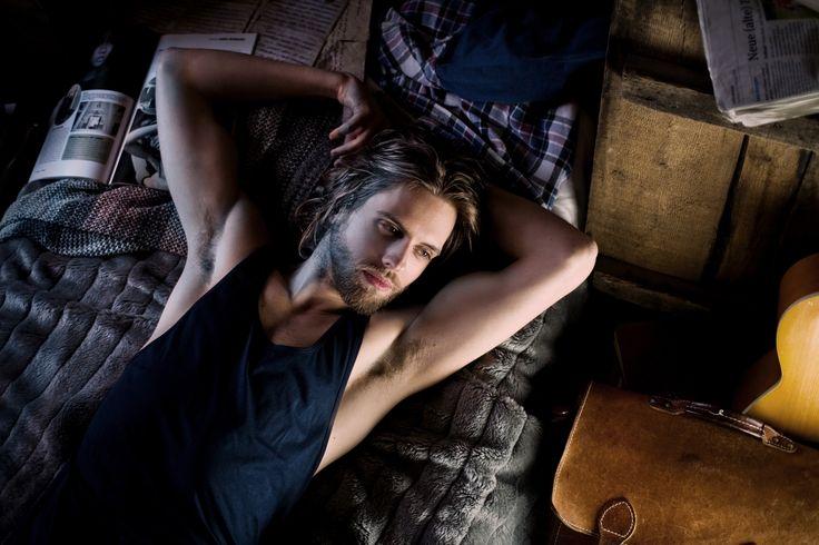 P. Bastian Welte by Mirko Stoedter #malemodel #longhair #beard #pogonophile #surfer