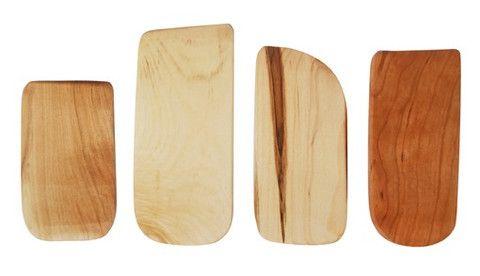 Wooden Dough Scrapers