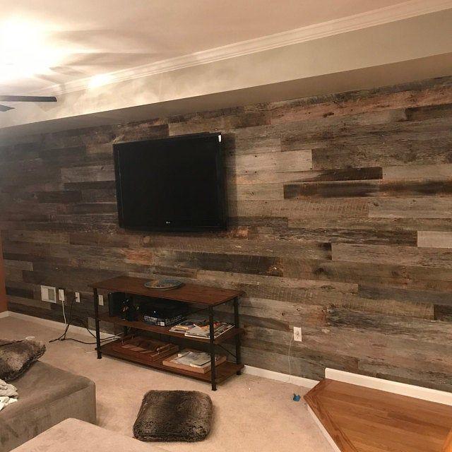 Sale Ultra Thin Original Face Grey Brown Barn Wood Siding Etsy In 2020 Wood Floors Wide Plank Barn Siding Black Walnut Flooring