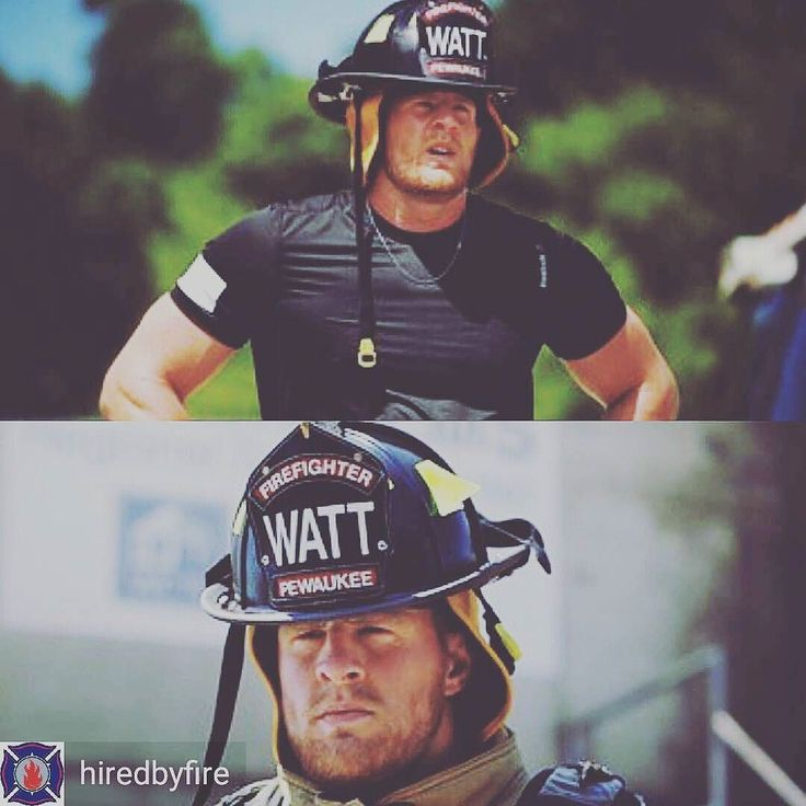 CHECK IT OUT Practically everyone has heard of NFL star defensive player JJ Watt. What a lot of people DON'T know is that he grew up around a firehouse. Not to ruin the video but watching and listening to him give our job a whirl is very humbling and definitely worth the 4 minutes. We have the feature on @justinjames99 linked on our Facebook page thanks to our friends The Fire Asylum for the link and @hiredbyfire for the pic. ________________________________________ Want to be featured? Show…