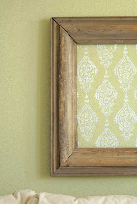 63 best Stenciled Walls images on Pinterest | Wall stenciling ...
