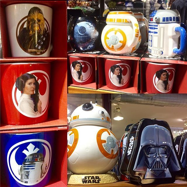 Stop by & stock up on #starwars! Isn't our BB-8 cookie jar cute? #starwarsday