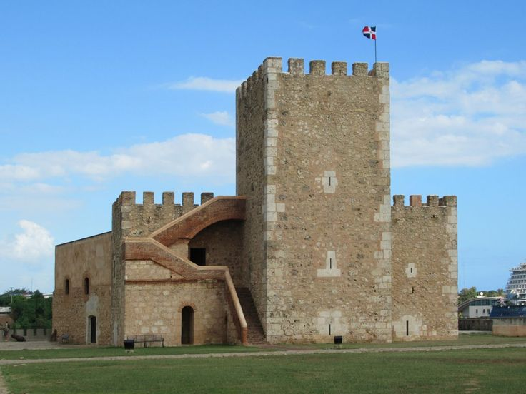 The Fortaleza Ozama (1502) in Santo Domingo, Dominican Republic, is the oldest military fortress in the Americas.