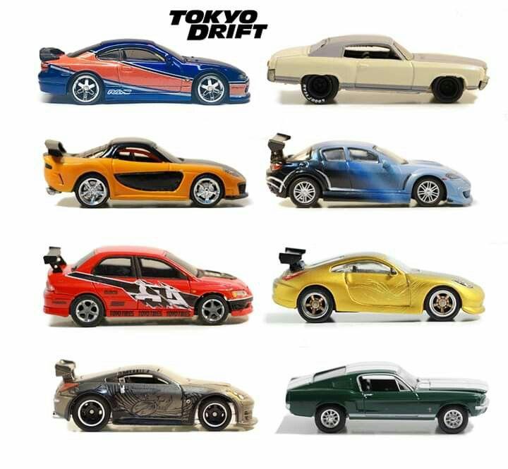 1 64 Ff Tokyo Drift Hot Wheels Hot Wheels Cars Sports Cars