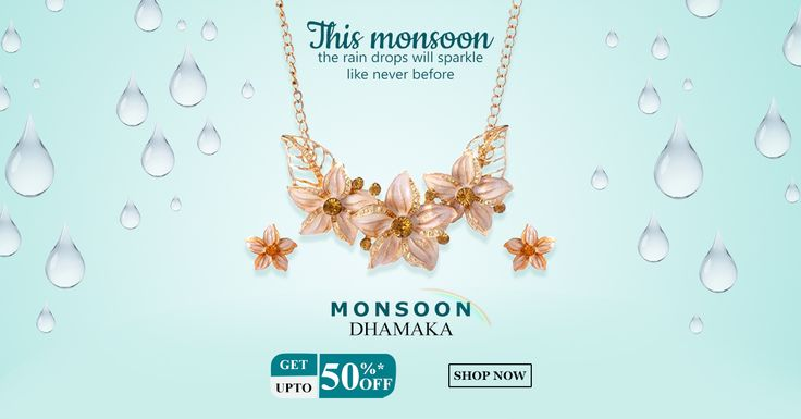 Be Styled With Monsoon Season Hottest Jewellery Collection💎 SALE Upto 50% OFF. LIMITED TIME OFFER HURRY UP! ⏰⏰⏰  Cash on Delivery available All Over India Comment YES if you want One🤗🤗🤗 #jewellery #set #monsoon #sale #onlineshopping