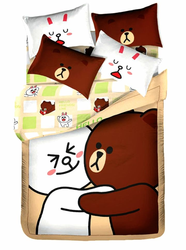 Cony and Brown! I have a spare set of this bedding sheets! If you're interested, message me! Yanni <3