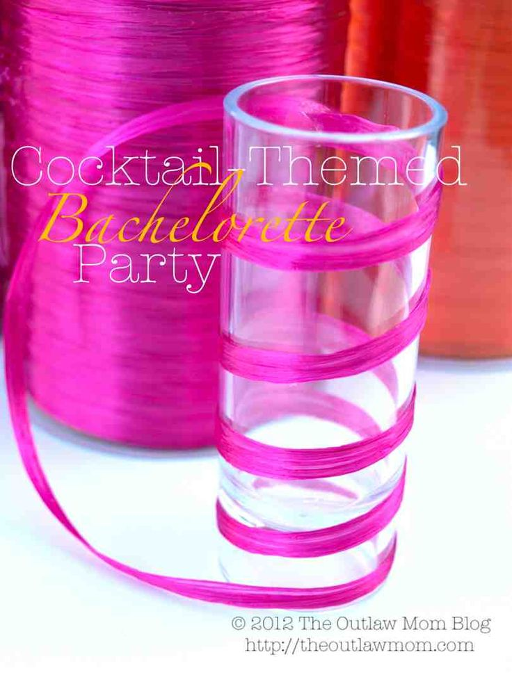 Etiquette For Bachelorette Party | Celebrate} Cocktail-Themed Bachelorette Party | The Outlaw Mom (TM ...