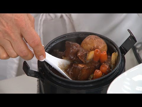 Wolfgang Puck 1.5 cup portable rice cooker - YouTube