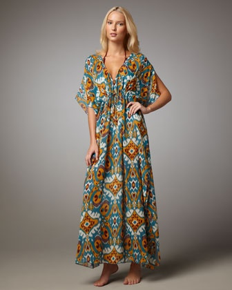 Terrero Printed Caftan by Tory Burch at Bergdorf Goodman.