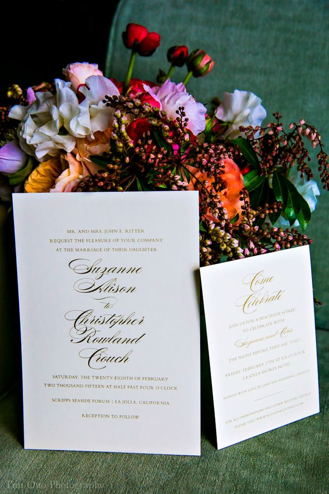 Wedding Invitations, Custom Letterpress and other Fine Stationery in La Jolla and in San Diego - Sweet Paper  - Part 9