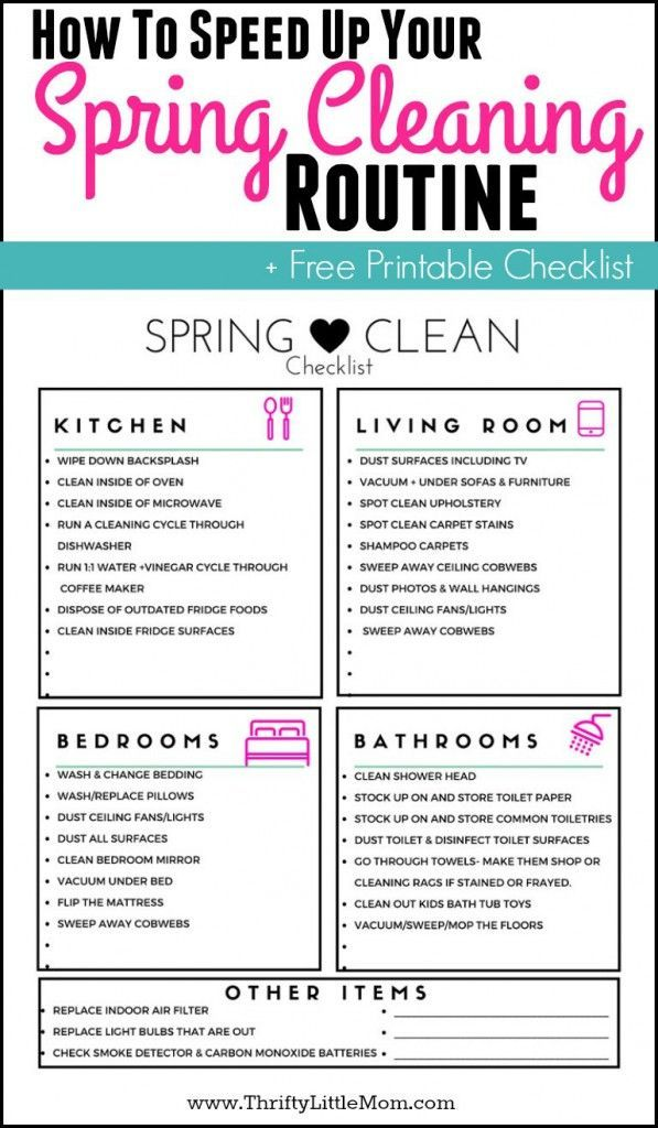 60 best Spring Cleaning images on Pinterest DIY, Candies and - sample spring cleaning checklist