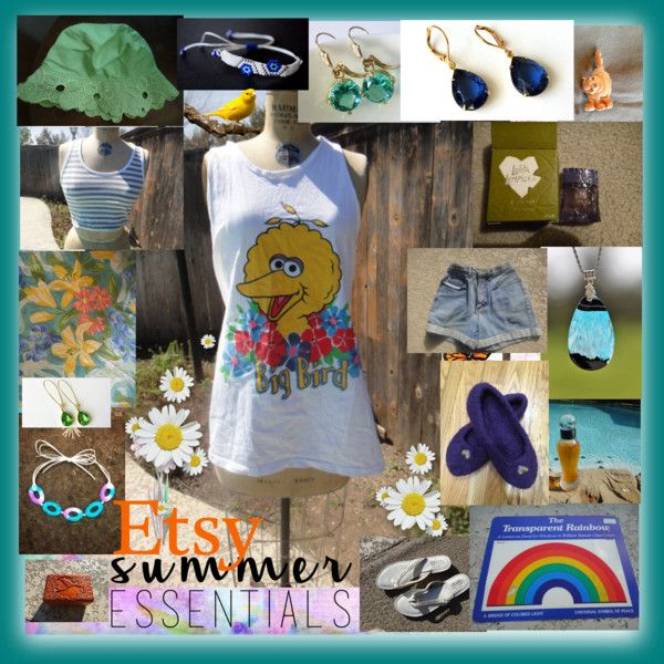 Etsy Summer Essential by treasures4youreyes on Polyvore featuring Eichholtz, vintage and country