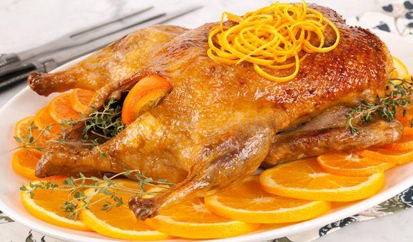 ¿Cómo preparar este clásico de la cocina francesa? Una receta muy tradicional en cualquier día festivo!!! #Pato_a_la_Naranja #recetas #pato #naranja