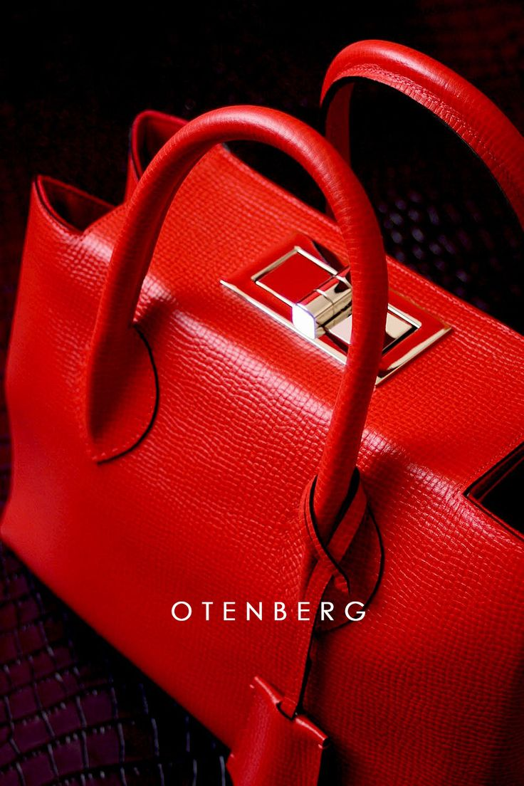 Otenberg spring 2017 #red #bags #fashion #otenberg