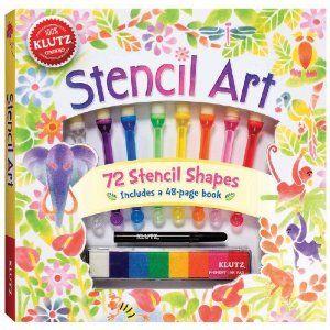Stencil Art $15.87 on Amazon.ca (ages6+)