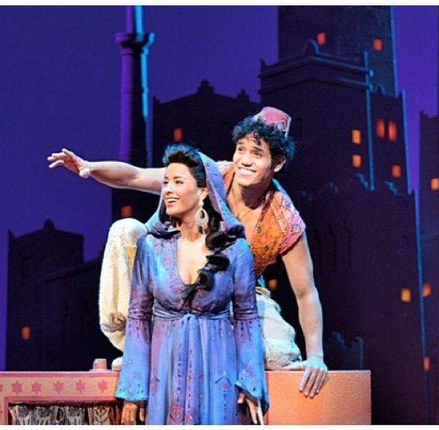 Aladdin- broadway 2014