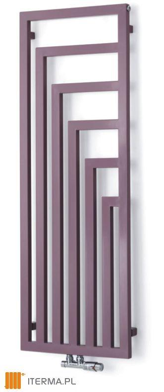 Grzejniki dekoracyjne Angus Vertical producenta Terma Technologie.Konstrukcja ramy stwarza wrażanie obrazu o geometrycznym wzorze graficznym #grzejniki #dekoracyjne #pokojowe #home #design #interior #designs #ideas