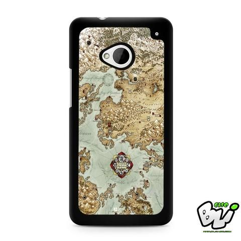 World Map Lord Of The Ring HTC G21,HTC ONE X,HTC ONE S,HTC ONE M7,HTC M8,HTC M8 Mini,HTC M9,HTC M9 Plus,HTC Desire Case