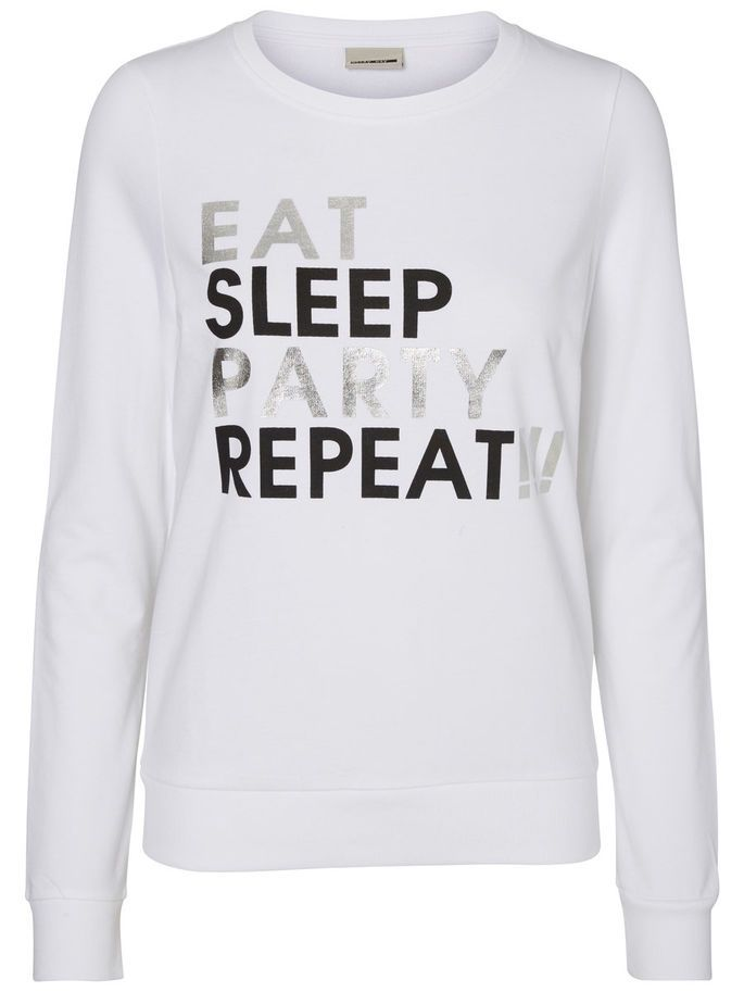 Eat, Sleep, Party, Repeat - YAY! Love this Noisy may sweat.