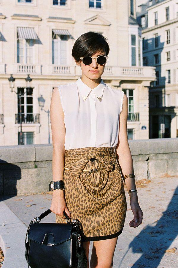 Love this skirt, shot by Vanessa Jackman: Vanessa Jackman, Anne Catherine Frey, Fashion Clothing, Annecatherin Frey, Leopardanim Prints, Street Styles, Leopards Prints, Animal Prints, Nudes Shades
