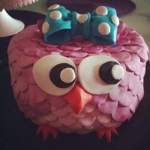 Gâteau hibou trop chou