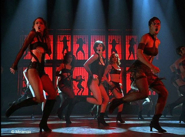 Cell Block Tango from Chicago. Best dance number ever in a movie.