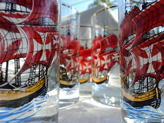 no one expects the spanish inquisition barware glass by peaceocake, $27.00