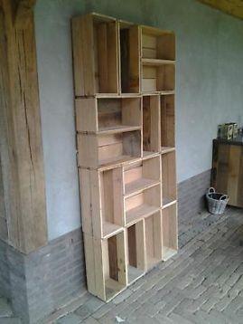 ≥ kistenkast, kasten, kastje, houten kast, kinderkamer, eiken. - Tuinmeubelen - Marktplaats.nl